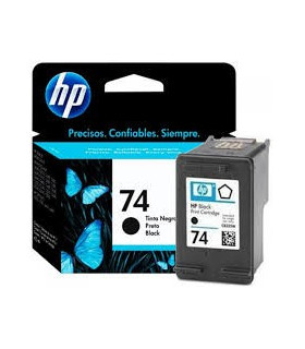 CARTUCHO ORIGINAL HP 74 CB335WL NEGRO