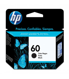 CARTUCHO ORIGINAL HP 60 CC640WL NEGRO
