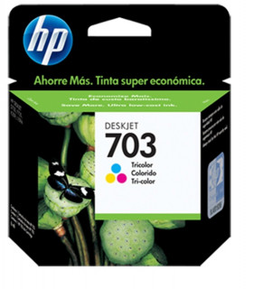 CARTUCHO ORIGINAL HP 703 CD887AL NEGRO