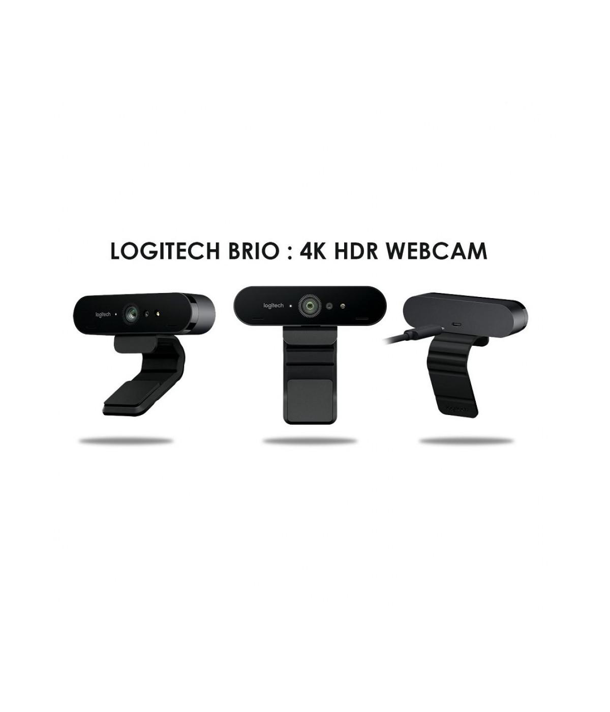 CAMARA WEB  4K LOGITECH  BRIO 4K PRO  960-001105