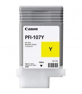 CARTUCHO CANON PFI-107 Y AMARILLO MATE PARA CANON IPF670