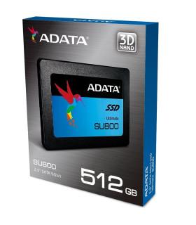 DISCO DURO DE ESTADO SOLIDO ADATA 512GB SSD M.2 ASU800NS38-512GT-C
