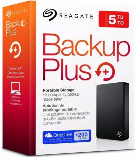 DISCO DURO EXTERNO 5TB USB SEAGATE BUCKUP PLUS STDR5000100