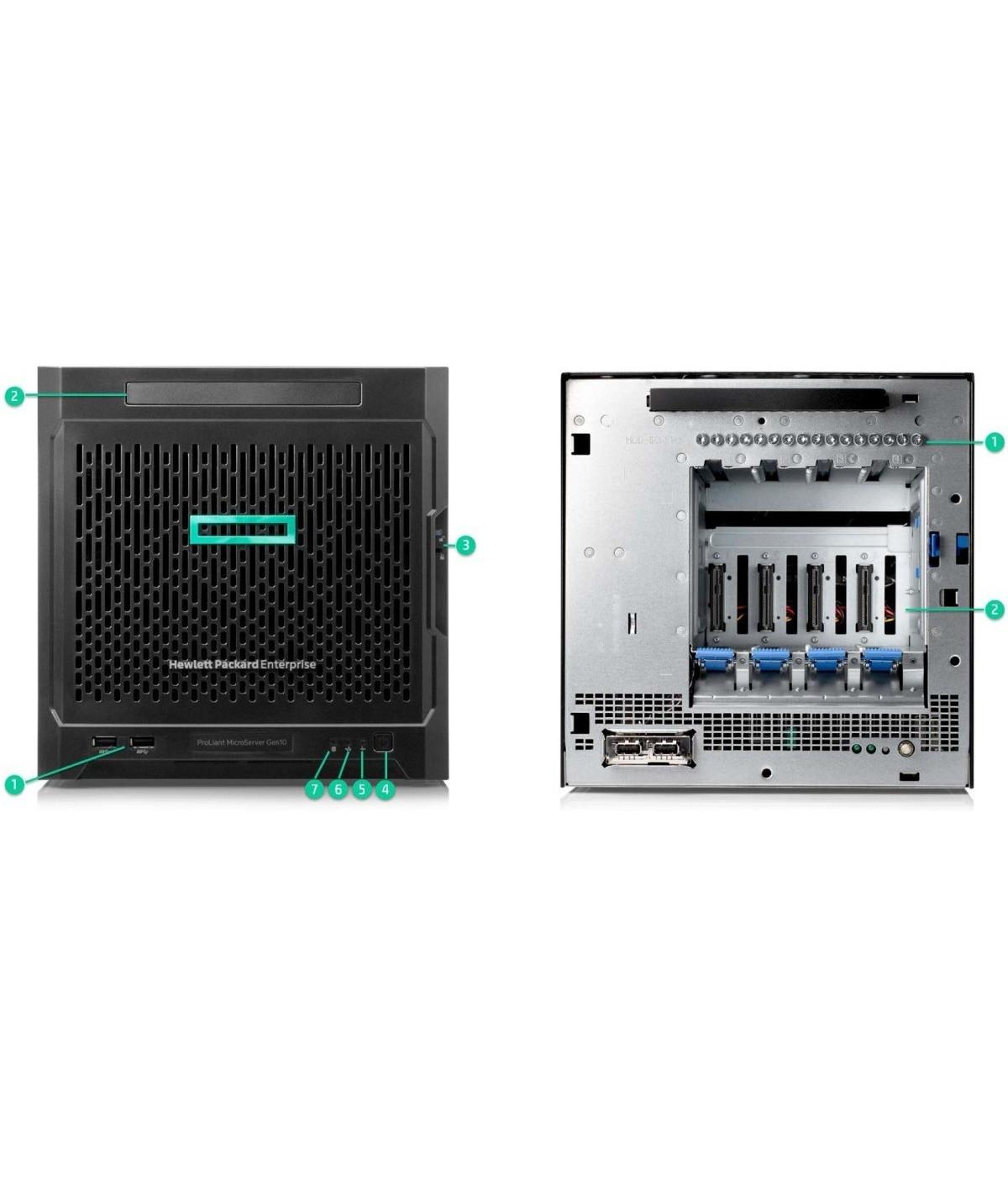 Servidor HPE Proliant Microserver Gen10