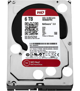DISCO DURO NAS WESTER DIGITAL WD 6TB RED (WD60EFRX )