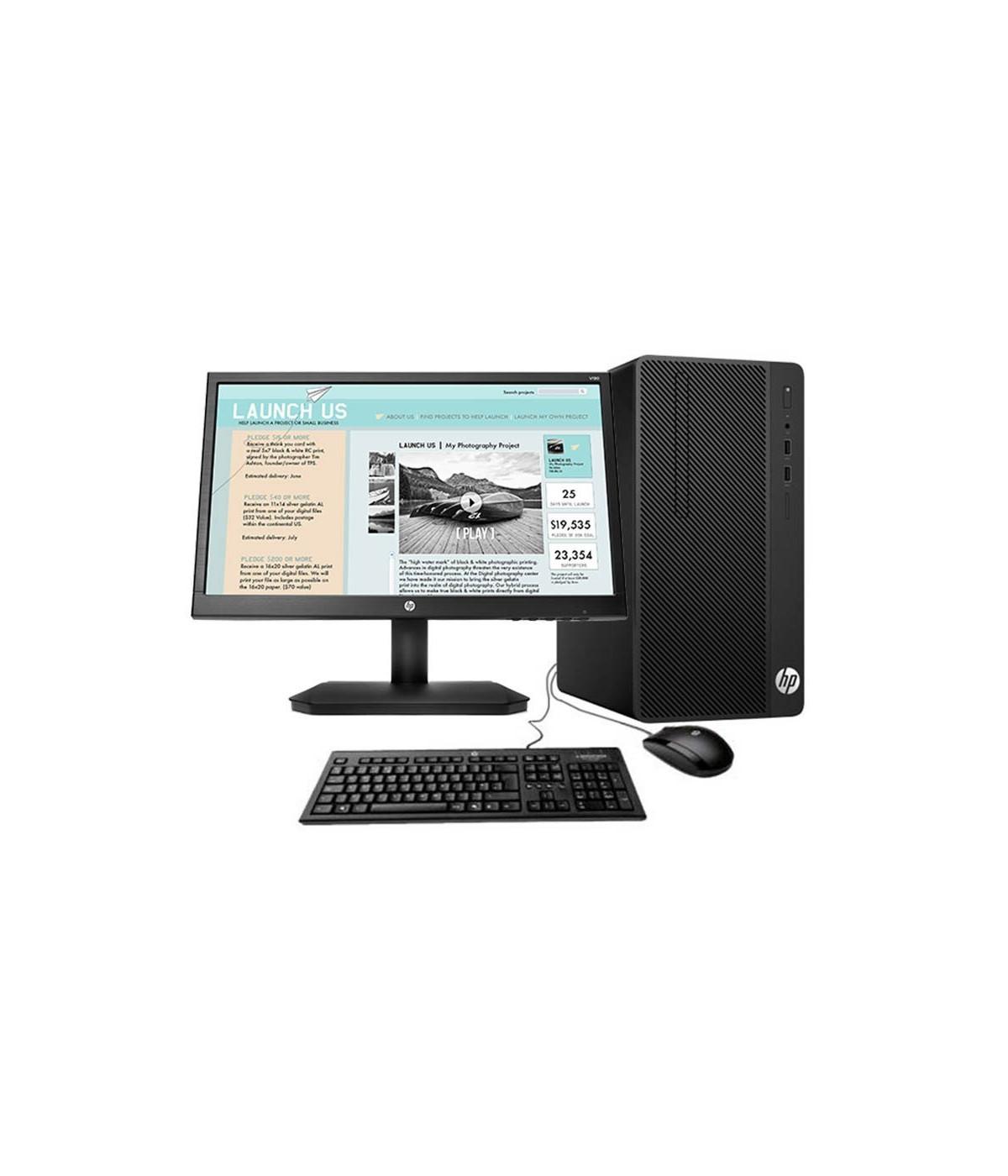 PC DE ESCRITORIO HP 280 G3 SFF Core i3 8100 3WN80LT