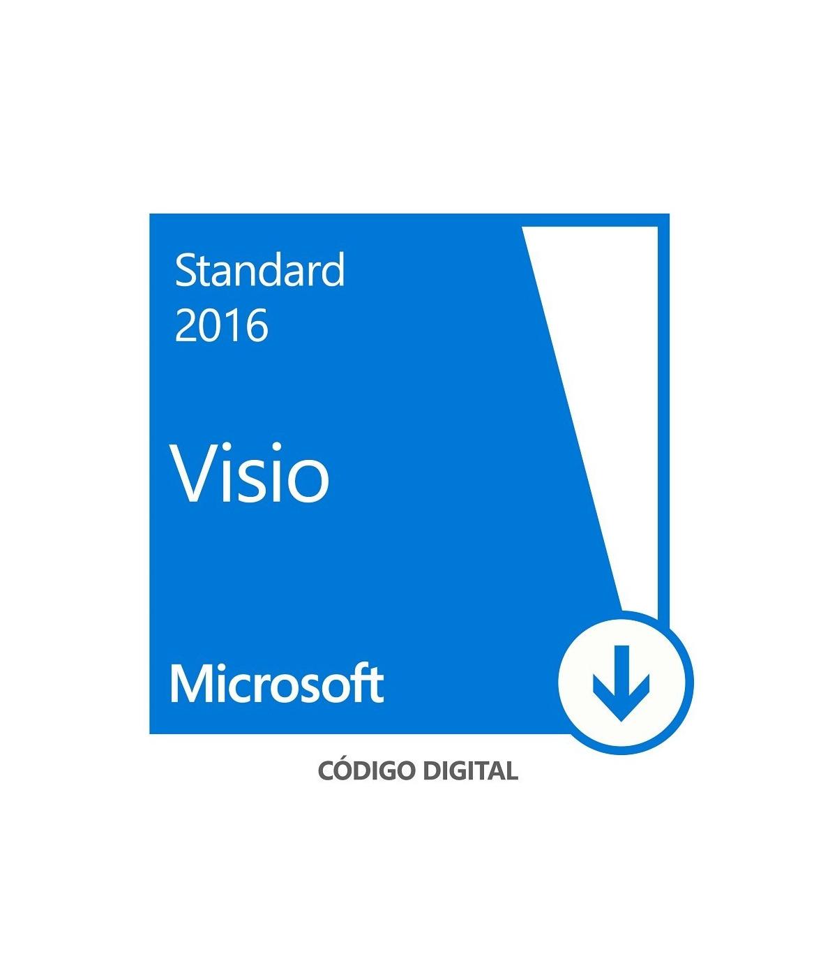 MICROSOFT VISIO STANDARD 2016 - LICENCIA - 1 PC