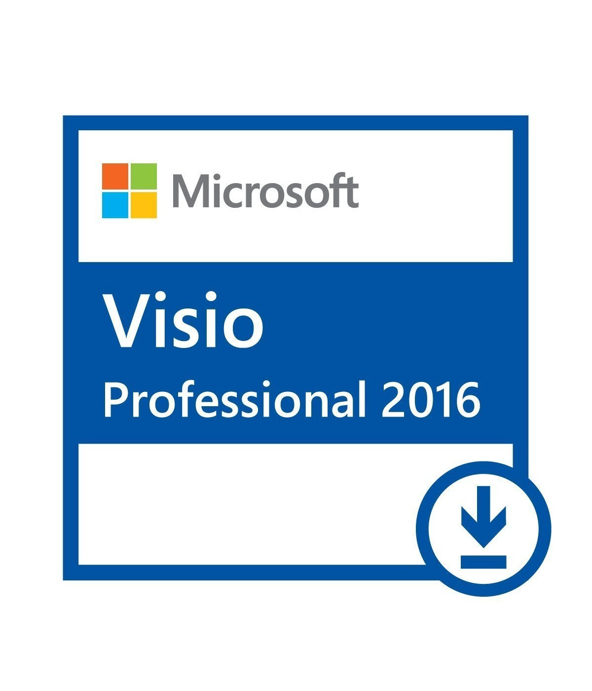 MICROSOFT VISIO PROFESSIONAL 2016 ESD D87-07114 1-PC
