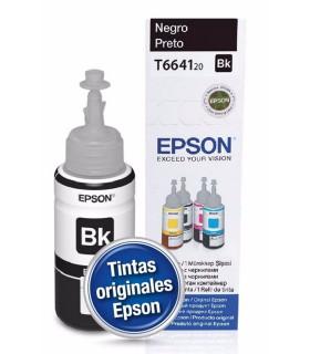 BOTELLA TINTA EPSON 664 ORIGINAL NEGRO (T664120-AL)