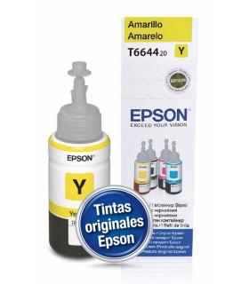 BOTELLA TINTA EPSON 664 ORIGINALAMARILLO (T664420-AL)