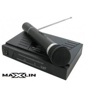 MICROFONO INALÁMBRICO MAXLIN MFIN325MX