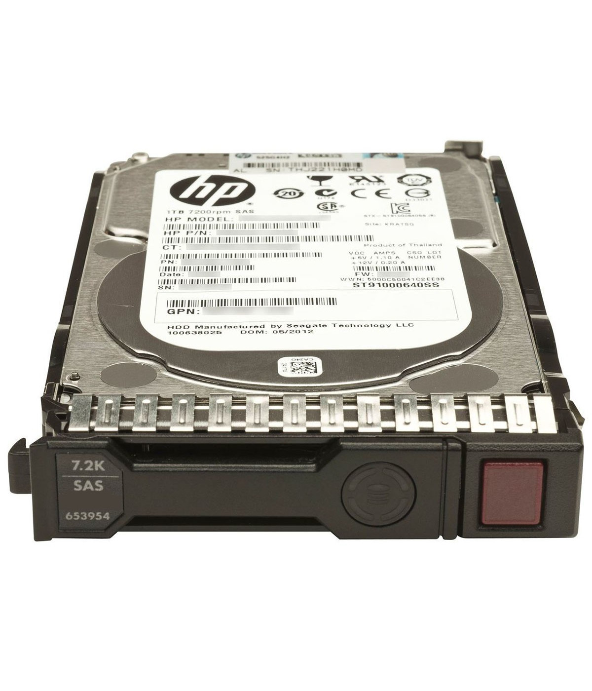 DISCO DURO HP 2TB 6G SATA 3.5in NHP MDL LFF (801884-B21)