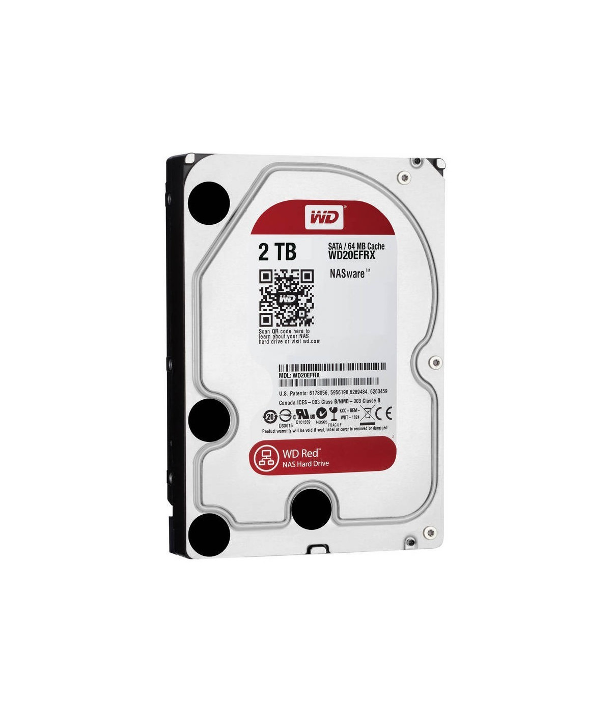 DISCO DURO NAS WESTER DIGITAL WD 2TB RED (WD20EFRX)