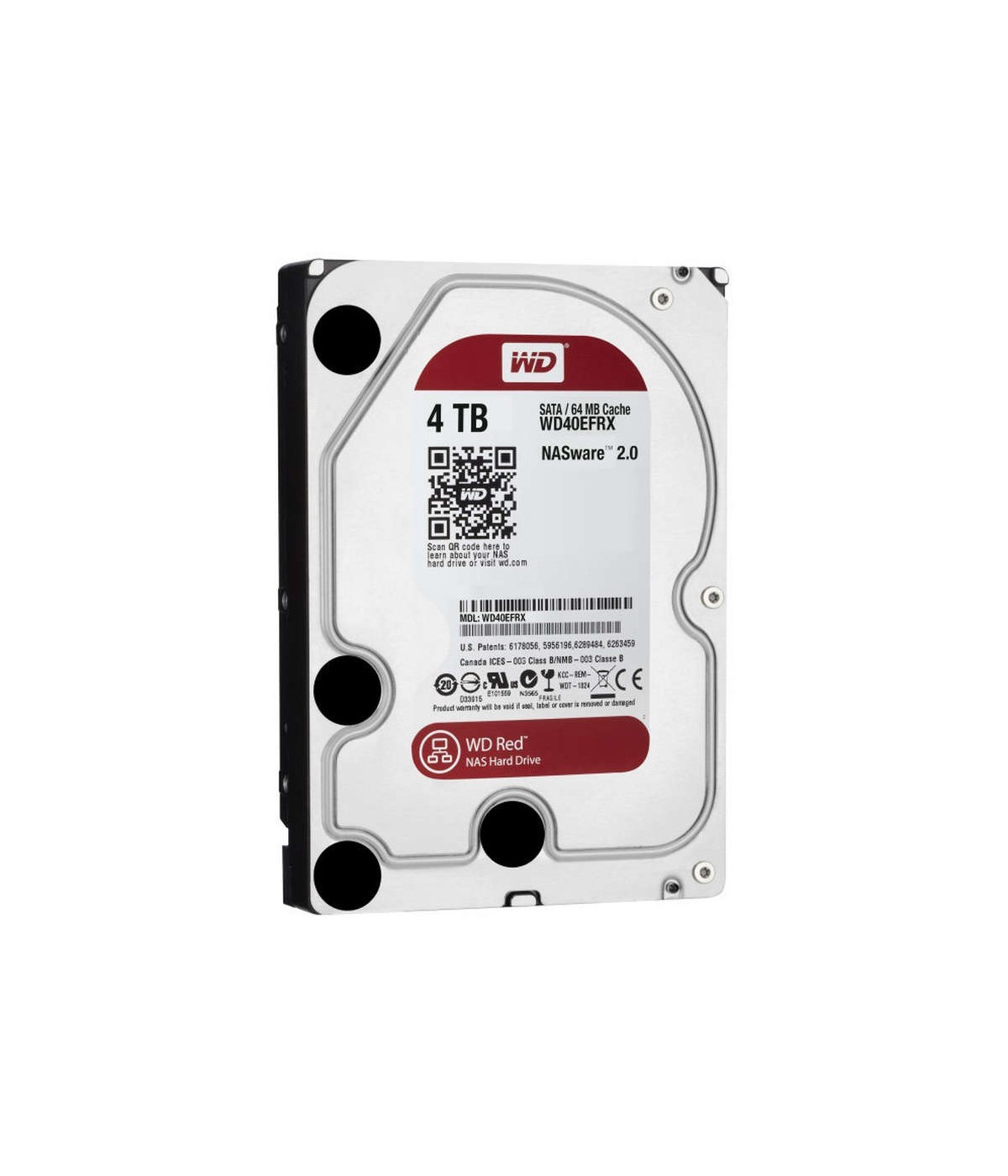DISCO DURO NAS WESTER DIGITAL WD 4TB RED (WD40EFRX)