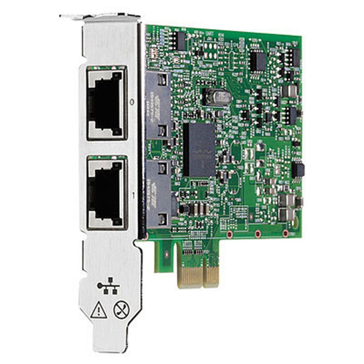 Tarjeta De Red Hp Ethernet 332t Pcie 2p 10 100 1000