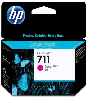 CARTUCHO HP 711 MAGENTA ORIGINAL (CZ131A)