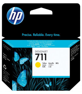 CARTUCHO HP 711 AMARILLO ORIGINAL (CZ132A)