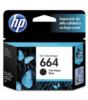 CARTUCHO HP ORIGINAL 664 F6V29AL NEGRO